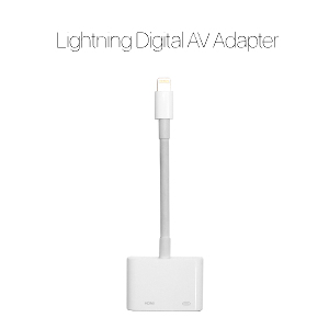 Lightning Digital AV 어댑터 - MD826FE/A