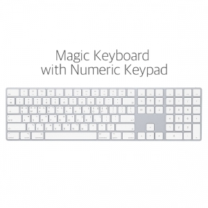 [Apple]애플 뉴메릭 매직 키보드 Magic Keyboard with Numeric Keypad - MQ052KH/A